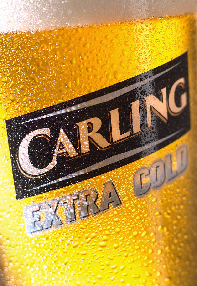 extra cold beer