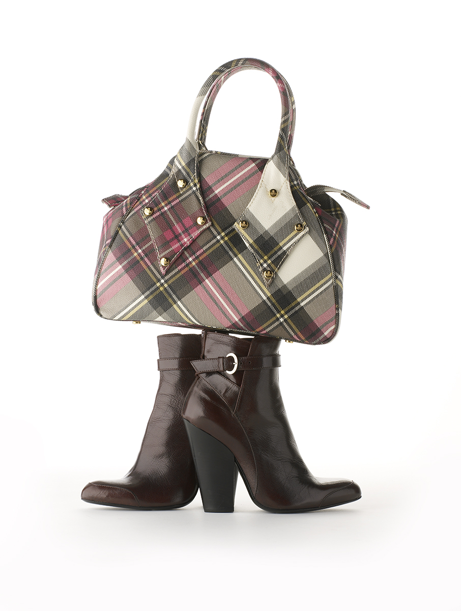 vivienne westwood bag and boots