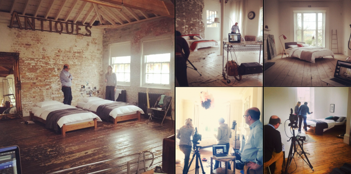 Behind the scene on the latest locations from another splendid production
