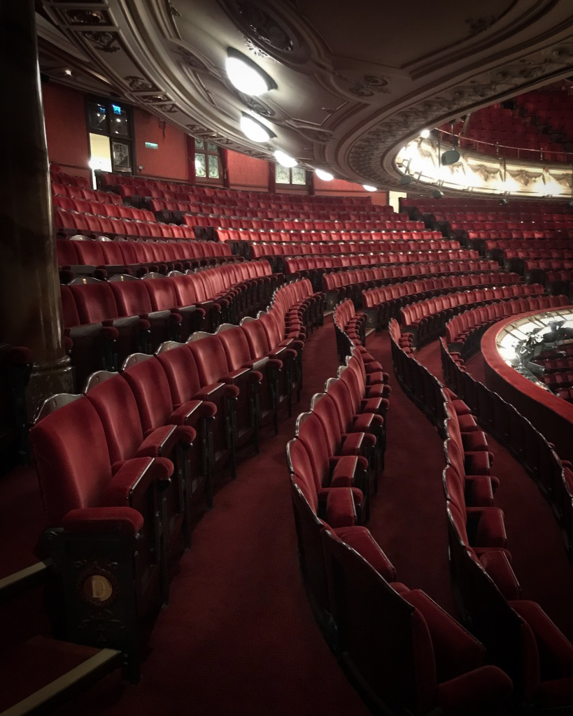 seats from the London coliseum